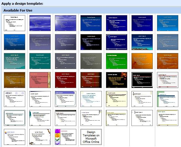 dizajn slajda