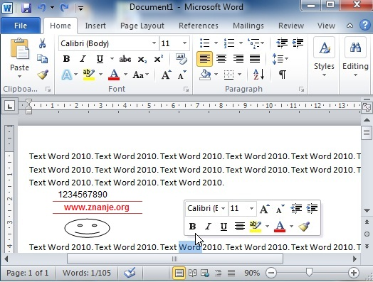 assignment of wordpad