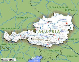 Karta Evrope Austrija Superjoden