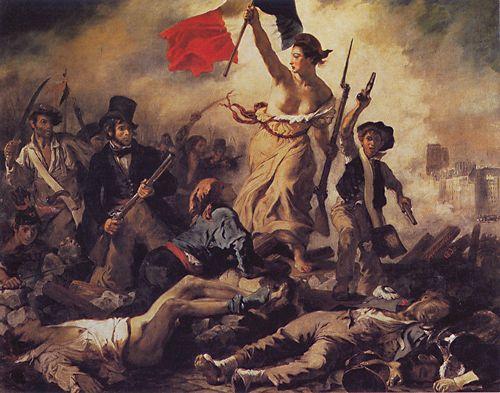 Umjetnička galerija Haoss Delacroix-liberty-leading