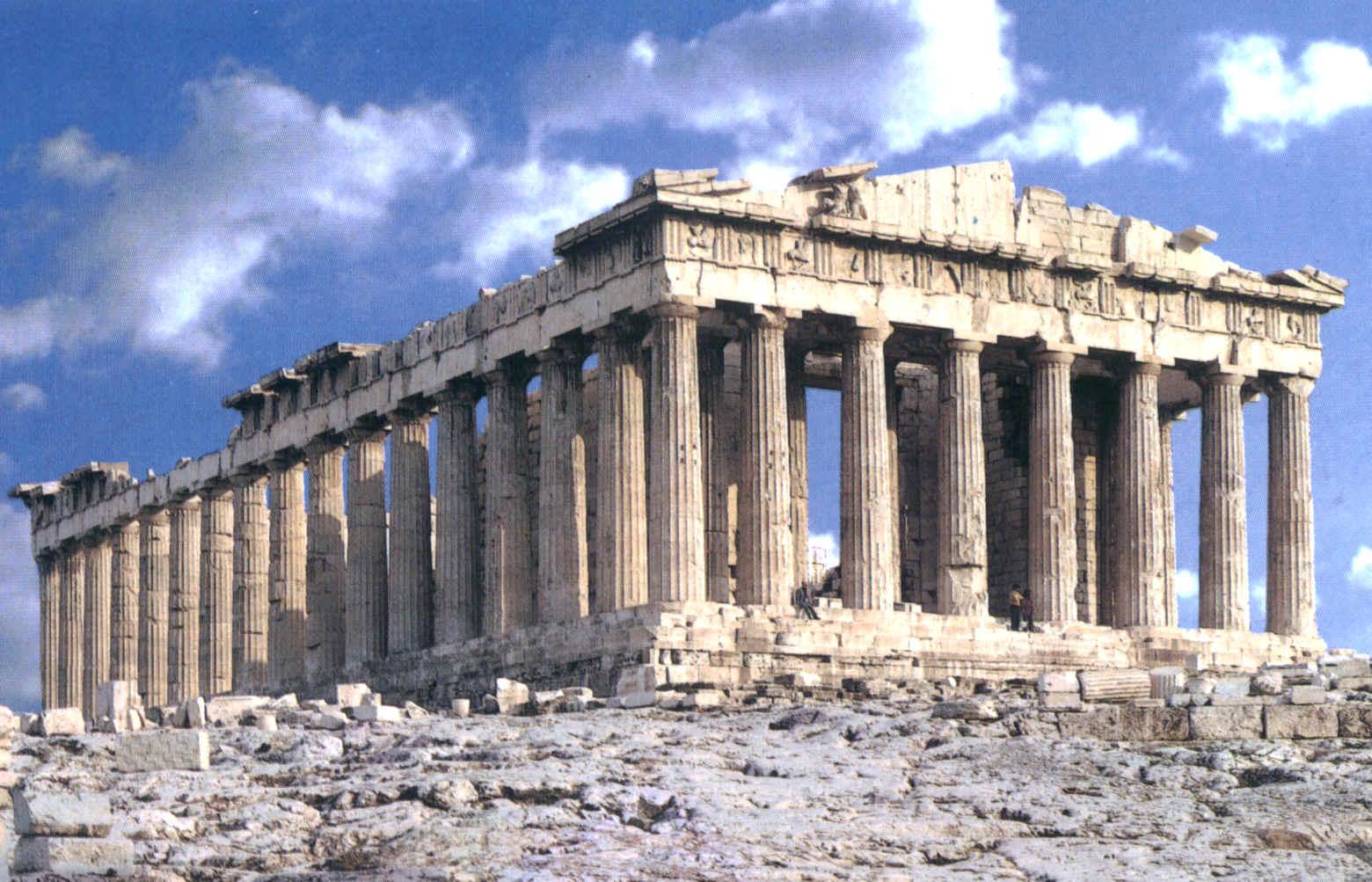 معبد پارتنون یونان