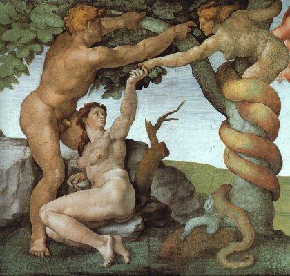 Michelangelo Buonarroti Prvi%20grijeh