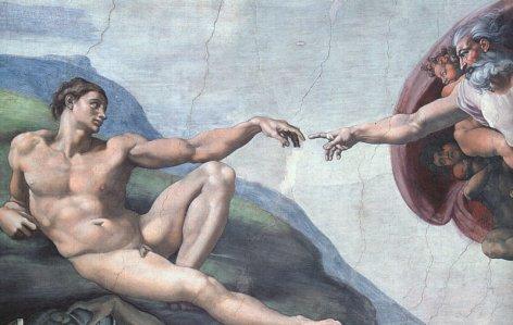 Michelangelo Buonarroti Stvaranje%20covjeka