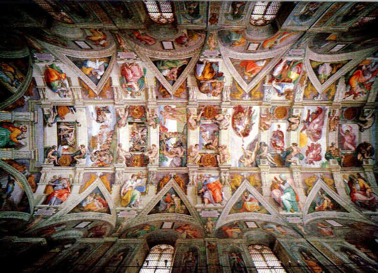 Michelangelo Buonarroti Tavanica%20sikstinske%20kapele