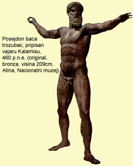 Grčko vajarstvo Posejdon