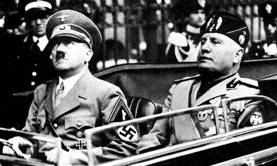 an analysis of the similarities and differences between hitlers germany and stalins russia
