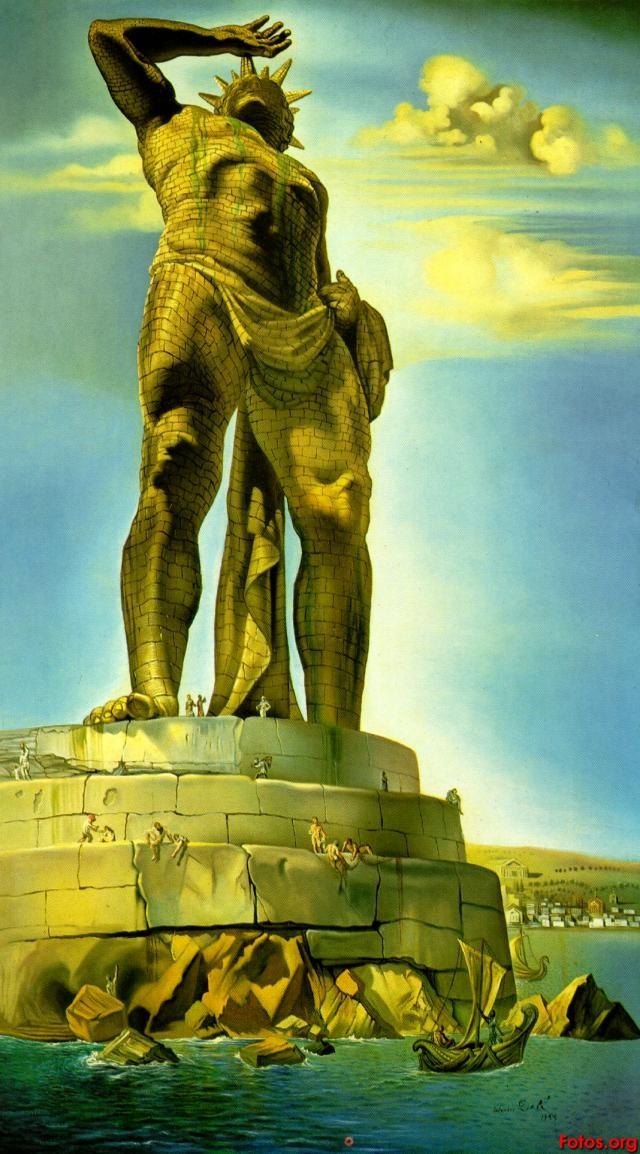 Statue koje oduzimaju dah Kolos2