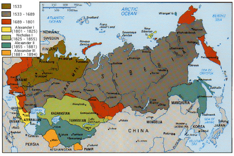 karta evrope i rusije ISTORIJA karta evrope i rusije