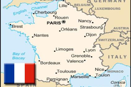 karta francuske GALERIJA karta francuske