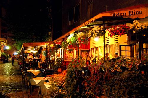 Noćni život u Beogradu Skadarlija