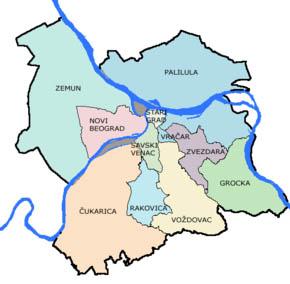 Karta Beograda Zvezdara Superjoden