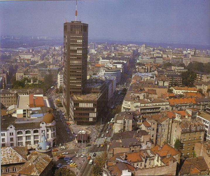 Znamenite gradjevine grada Beograda Beogradjanka