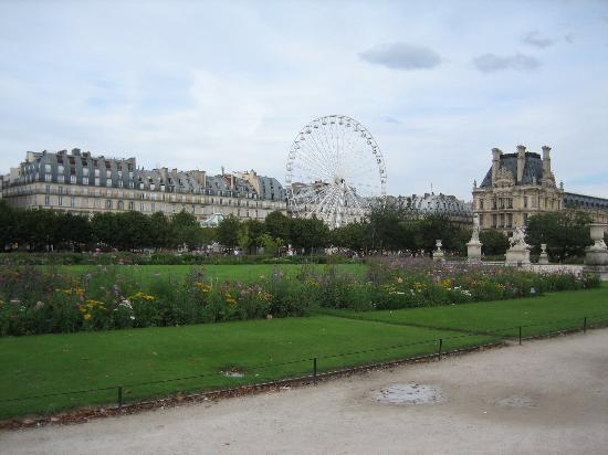 Vodi kroz pariz for Jardin jardin tuileries