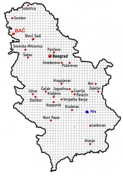 Veci Gradovi Srbije